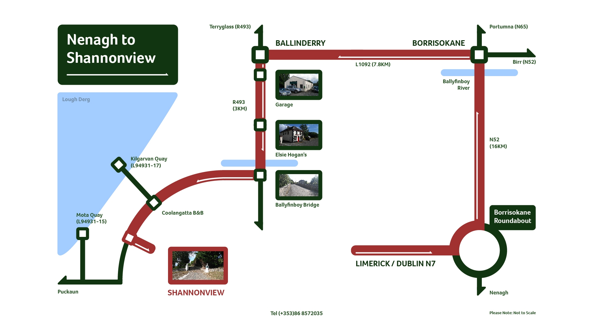 Map Nenagh to Shannonview