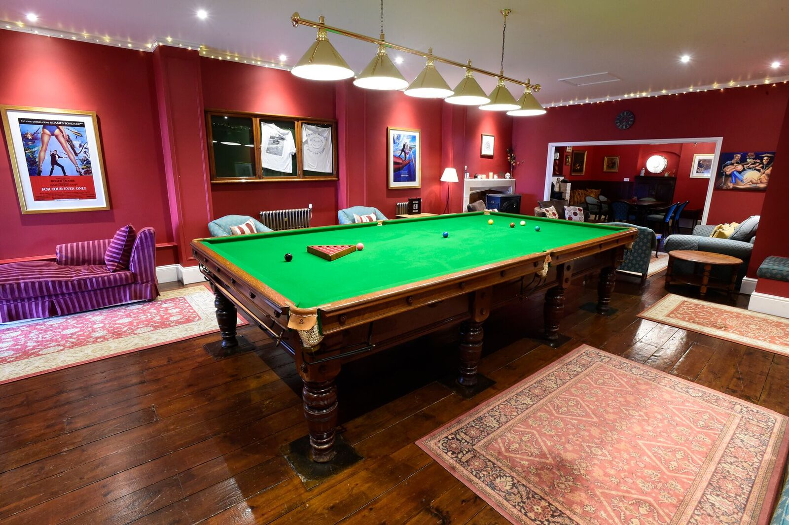 Billiard Room Bar Waterwynch House