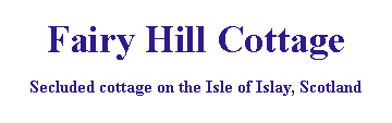 Logo - www.fairyhillcottage.co.uk