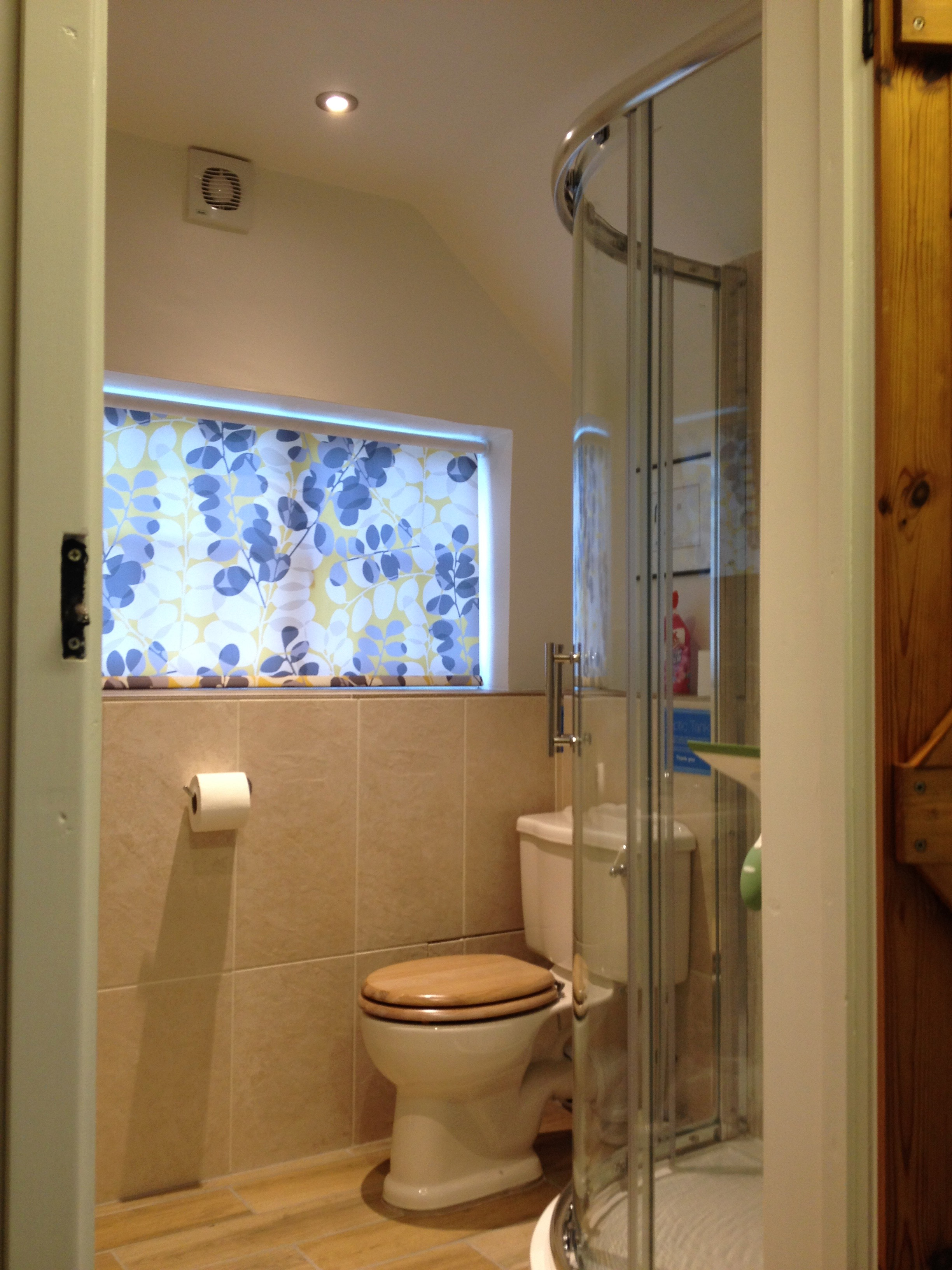 The downstairs shower-room (updated in 2017)