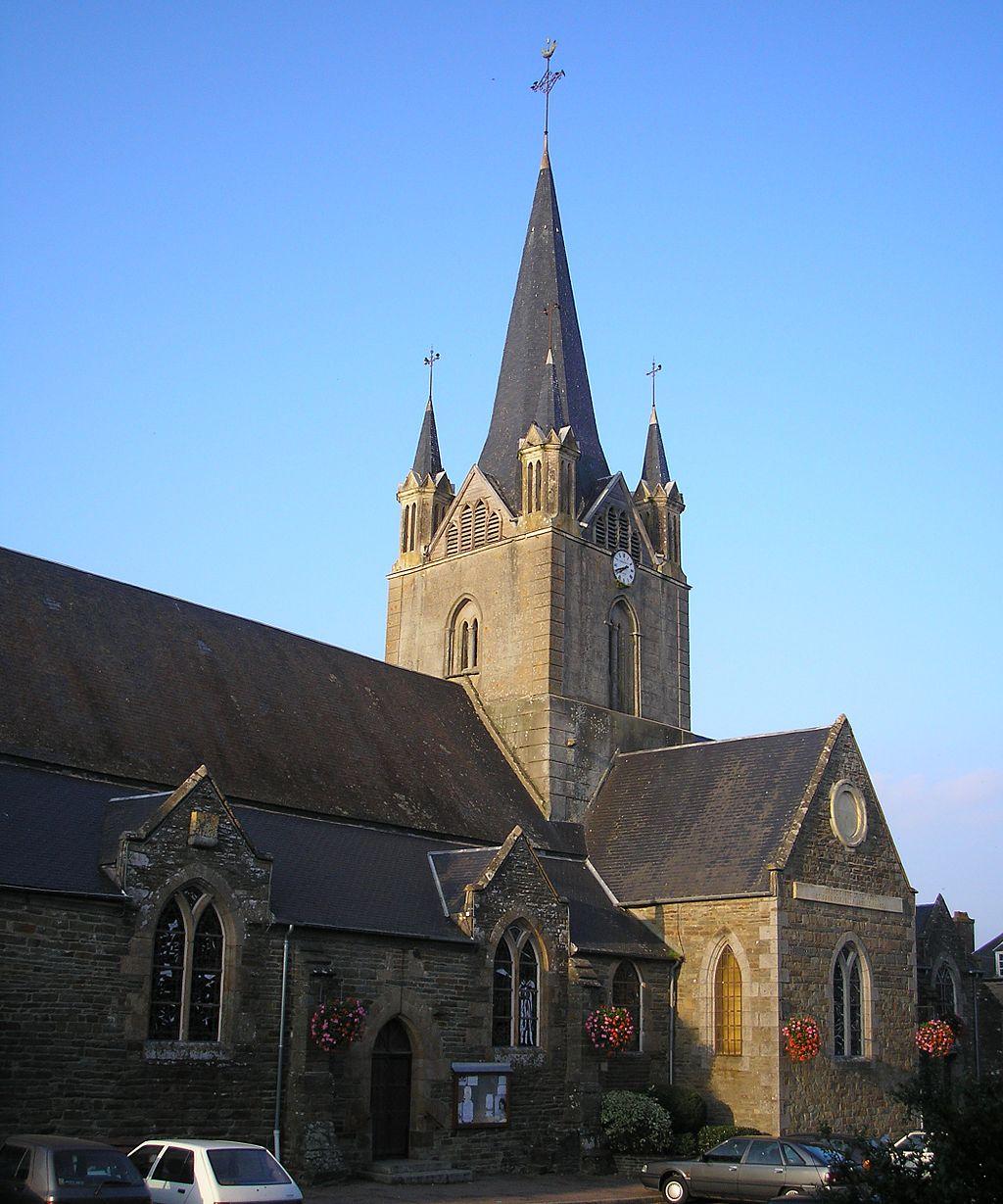 Saint Martin Notre-Dame et Saint André, Vassy, Normandy