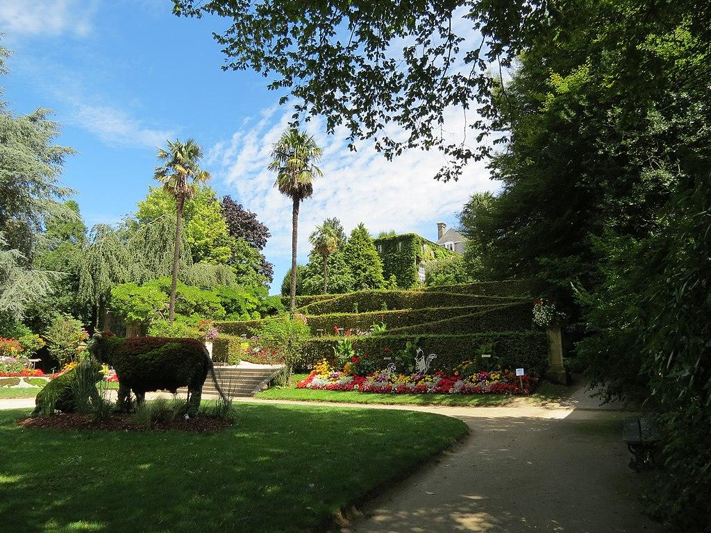 Jardin des Plantes, Coutances, Normandy