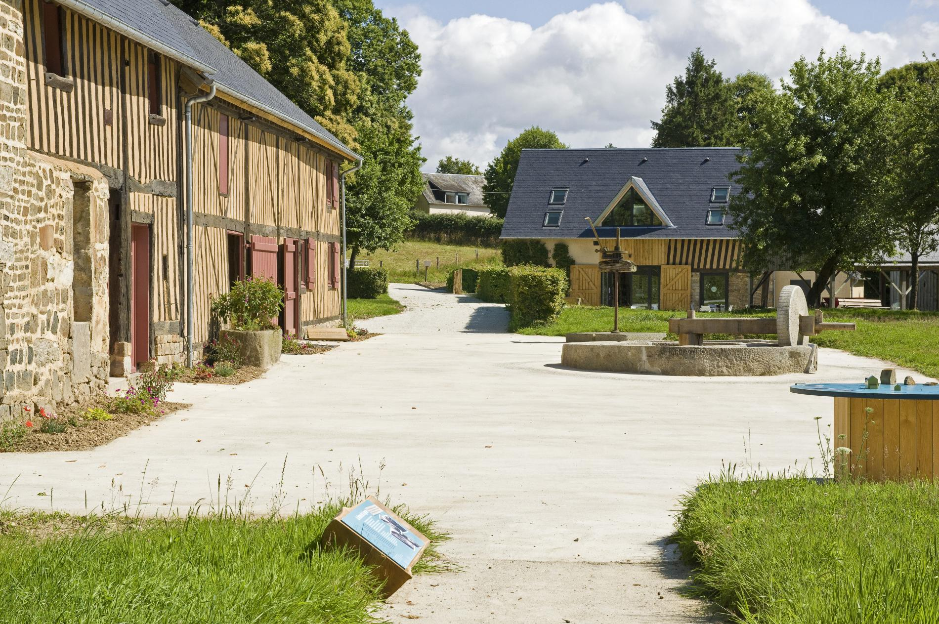 Musée du Poiré, Barenton, Normandy