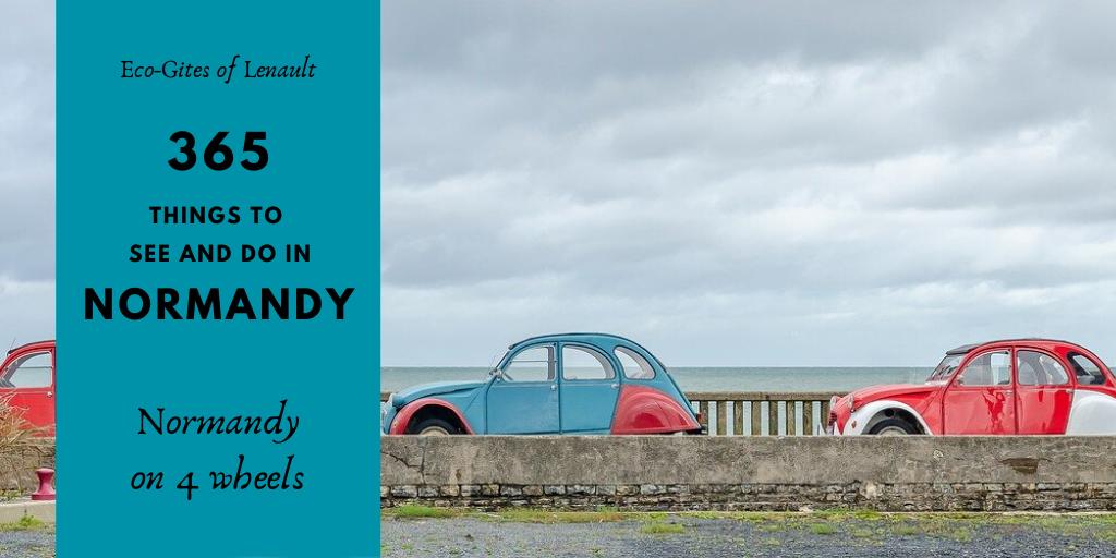 Normandy fun on 4 wheels - La Normandie à quatre roues