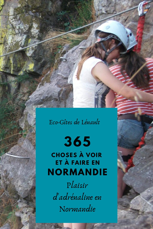 Plaisir d'adrénaline en Normandie