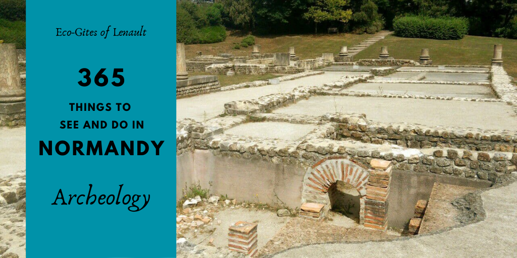 Archeology in Normandy