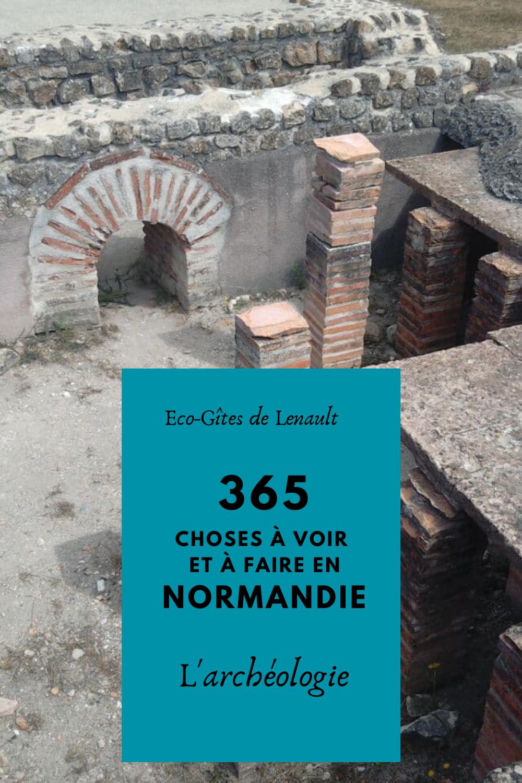 L'archéologie en Normandie