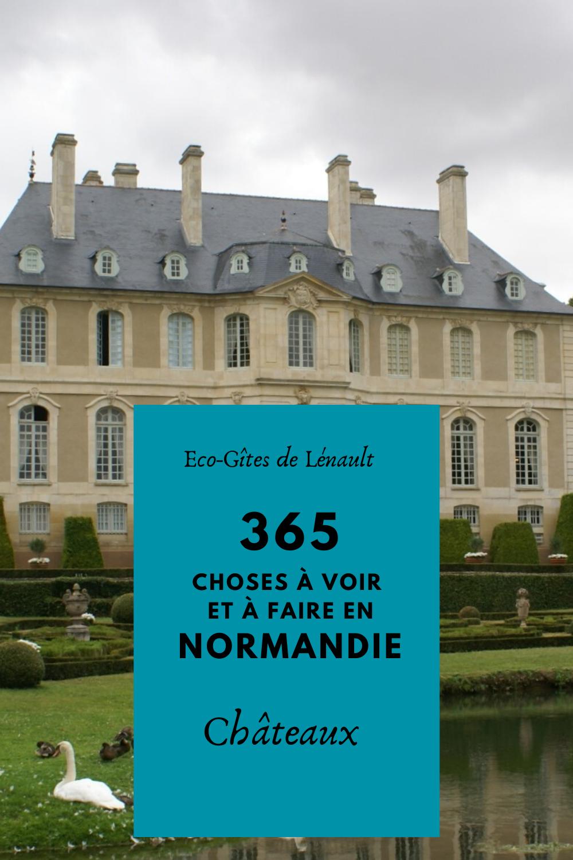 Les châteaux de Normandie