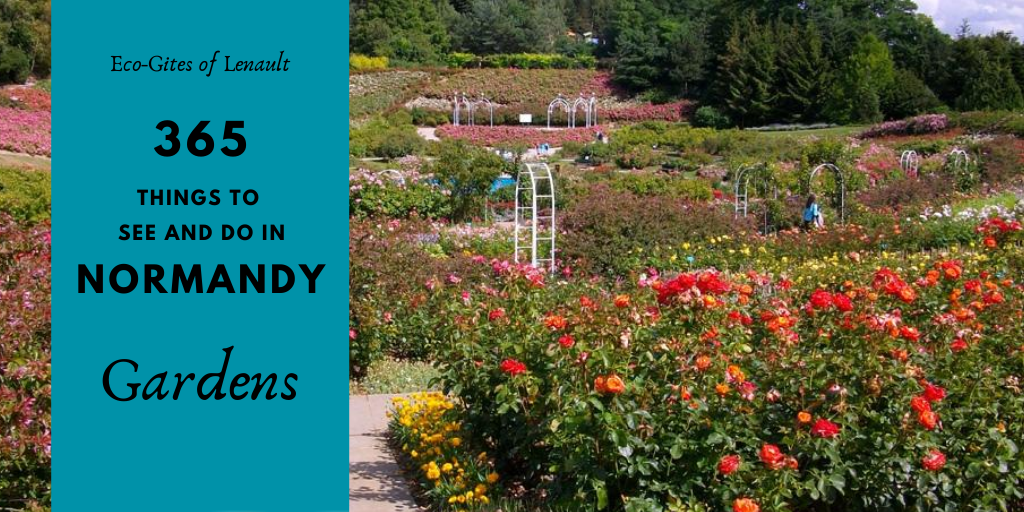 7 gardens to visit in Normandy, France