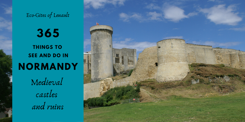 Medieval Castles and Ruins in Normandy
