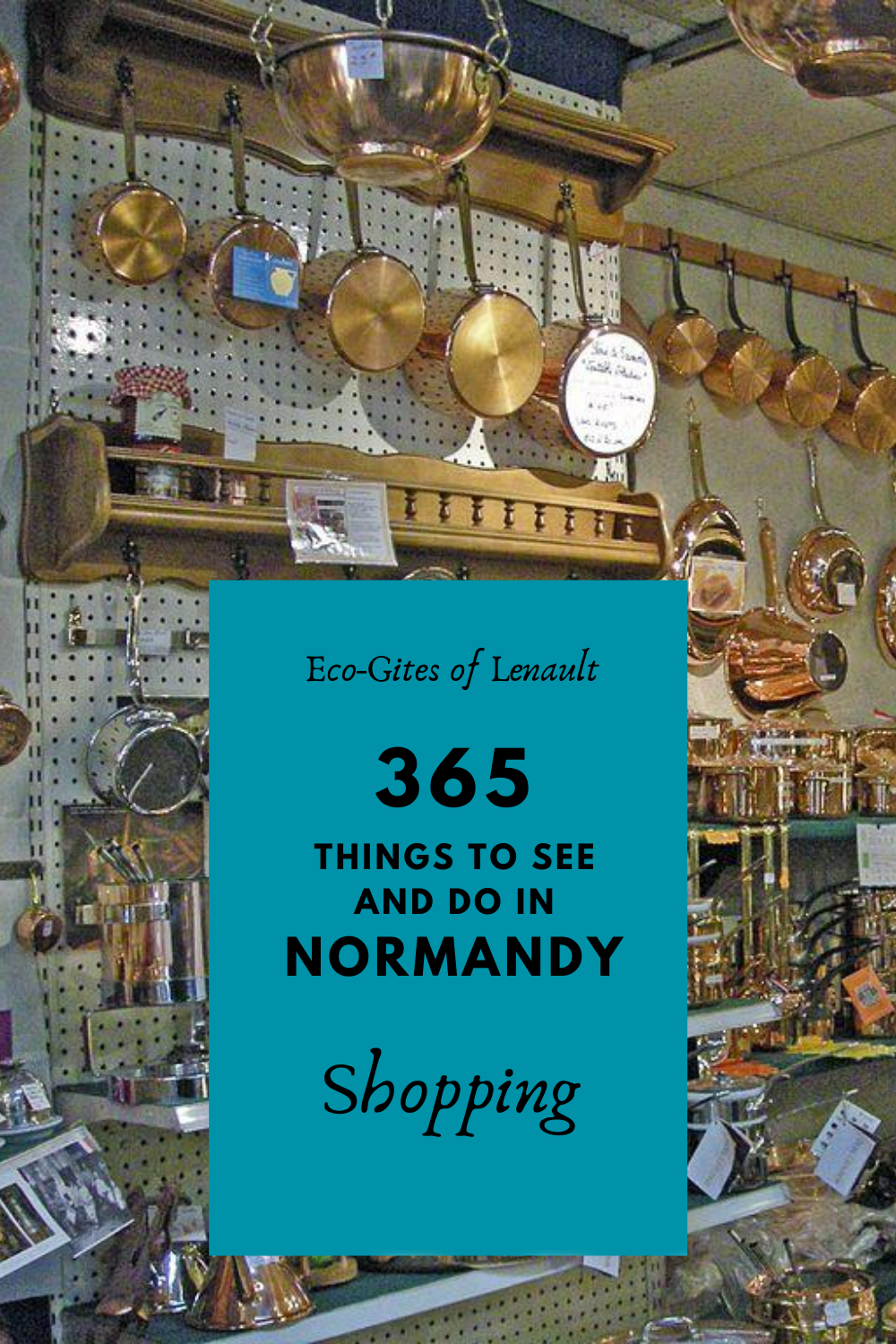 Shopping in Normandy, France