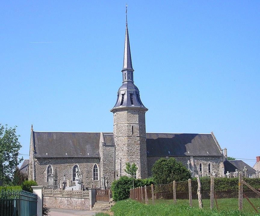 Charh at Saint Jean le Blanc, Normandy, France