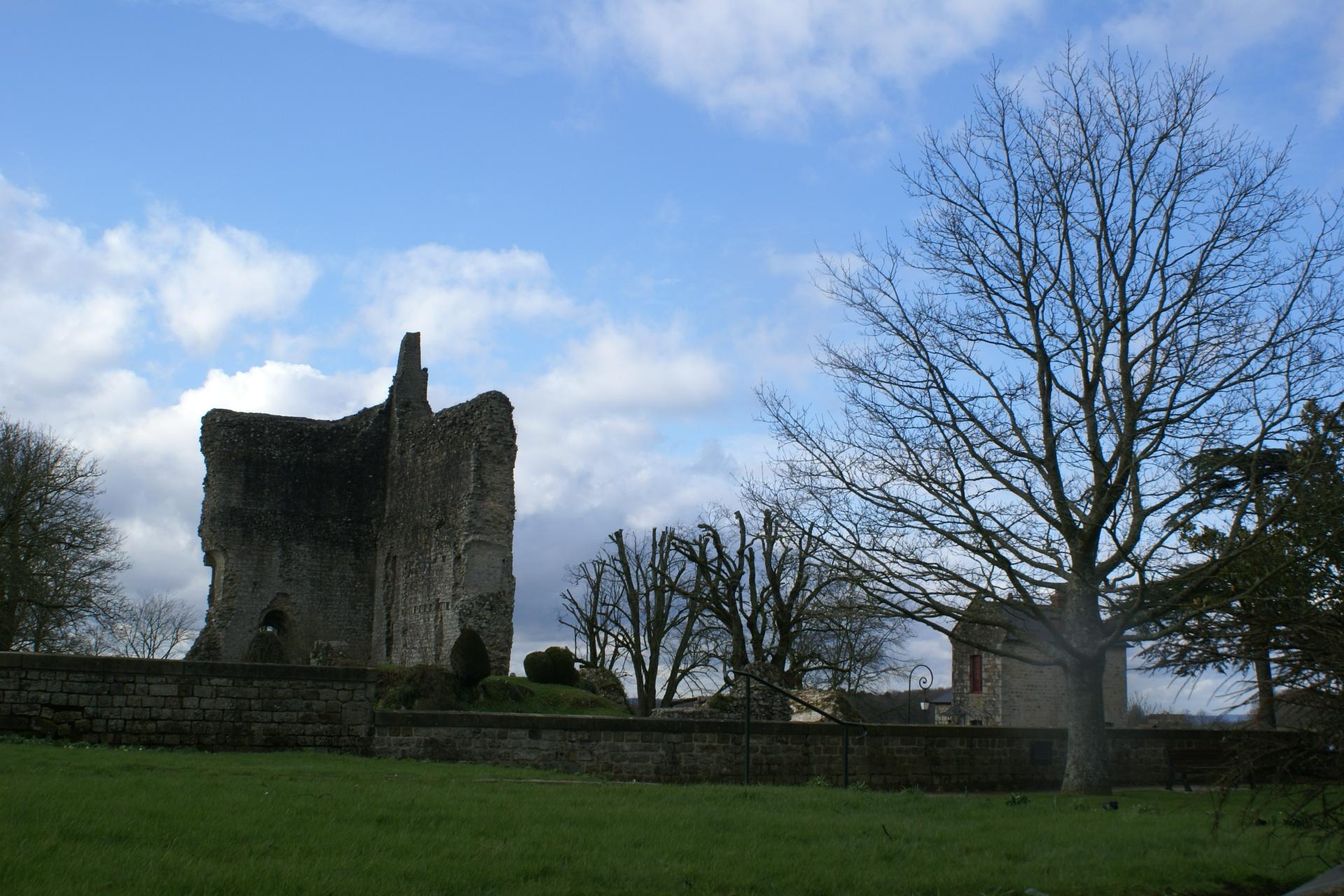 Château de Domfront, Normandy
