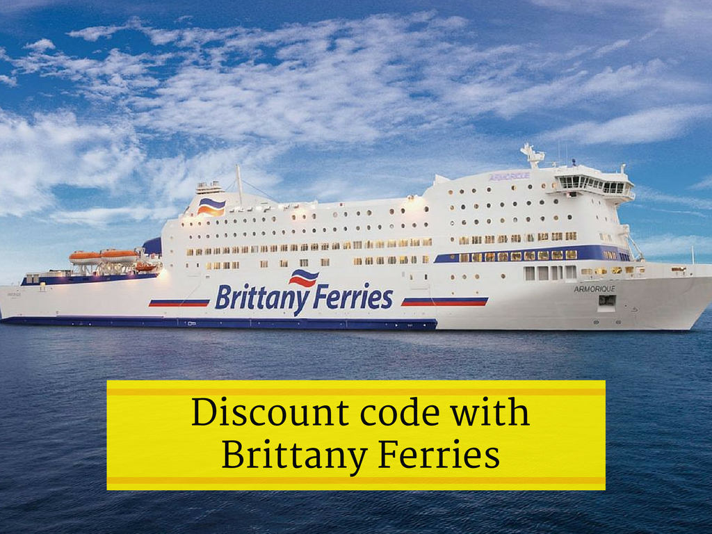 Discount code available from Eco-Gites of Lenault for Brittany Ferries crossings