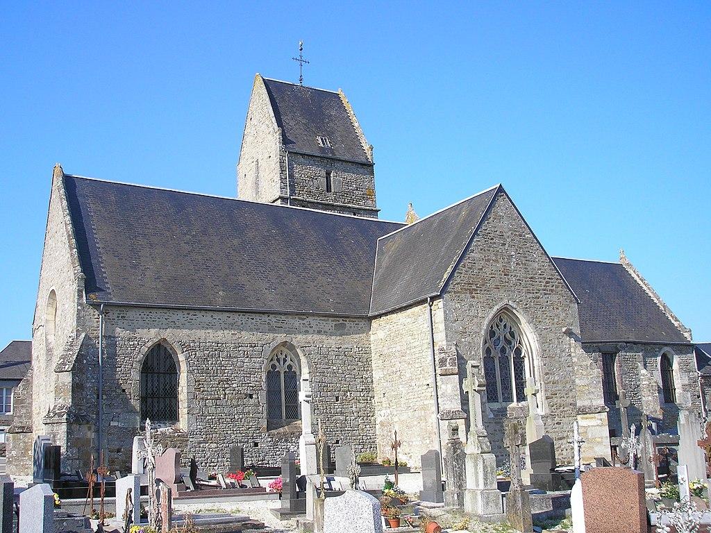Eglise de Saint Vigor-des-Mézerets, Normandie