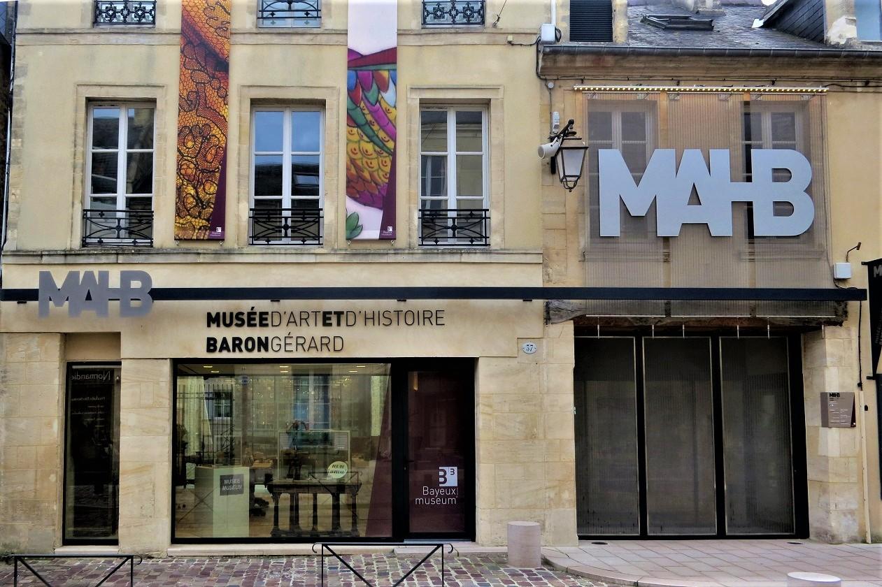 Musée d'art et d'histoire Baron Gérard, Bayeux, Normandie