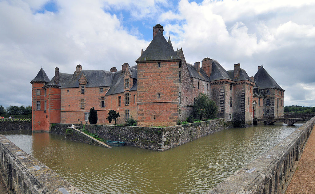 Châateau de Carrouges, Normandy