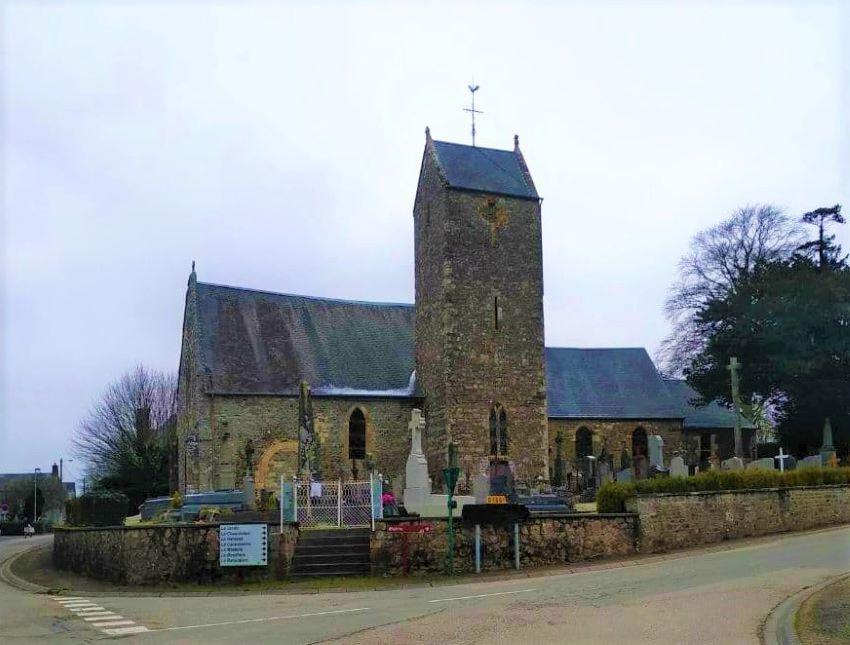 Eglise de Lénault, Normandie
