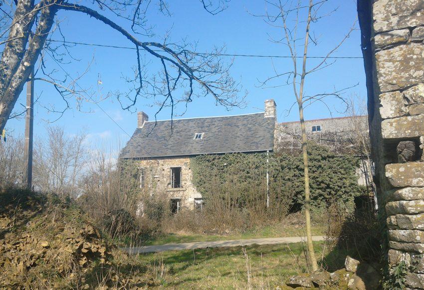 Derlict building, Le Hamelet, near Lénault, Normandy, France