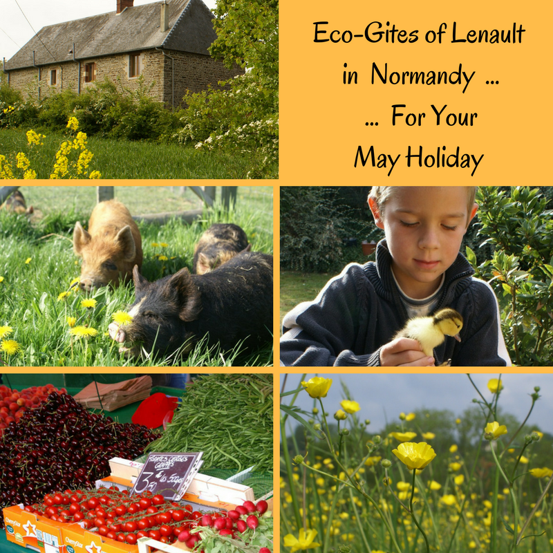 May dates available at Eco-Gites of Leanult in Normandy