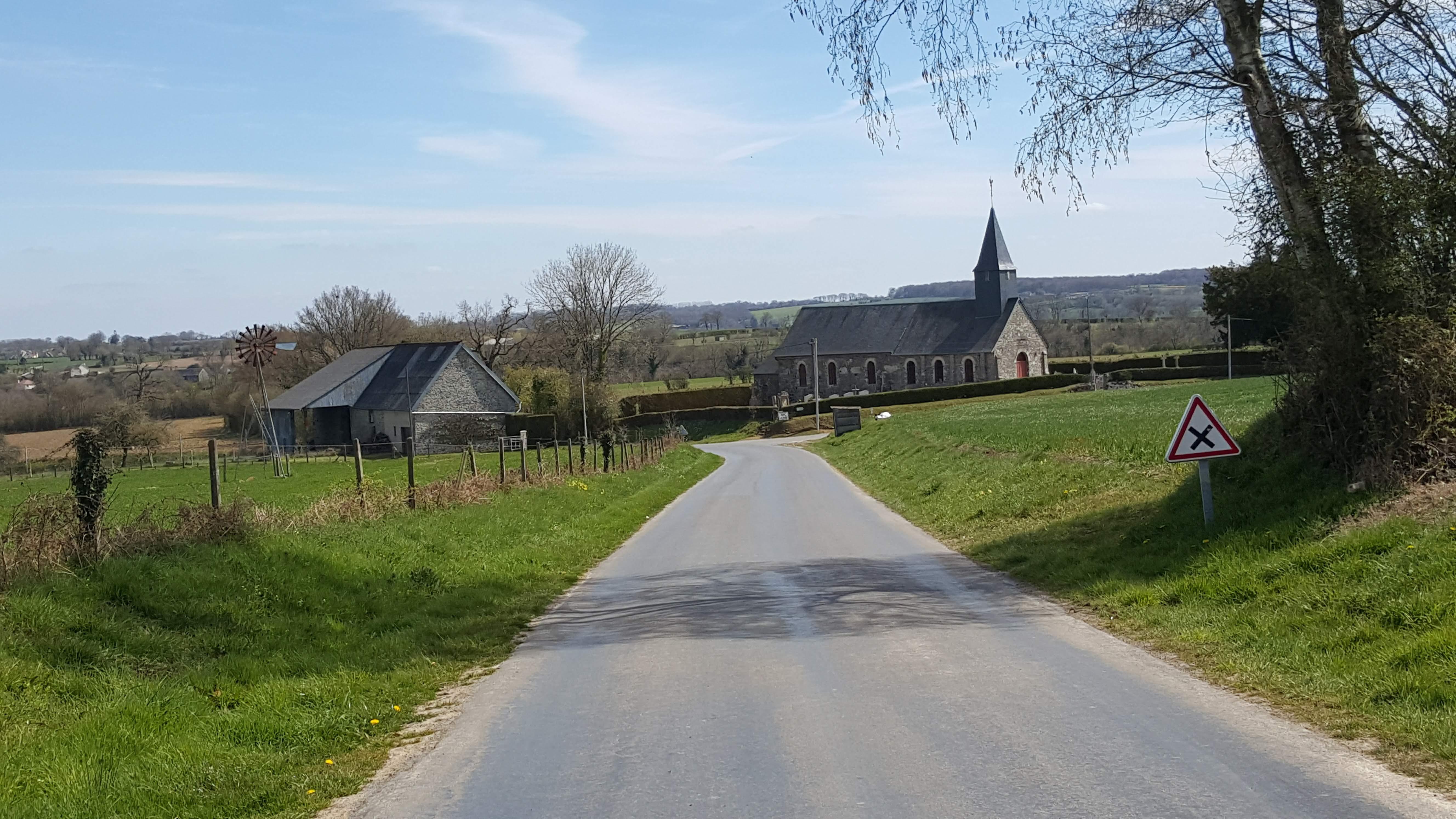 Perigny Church, Calvados, Normandy
