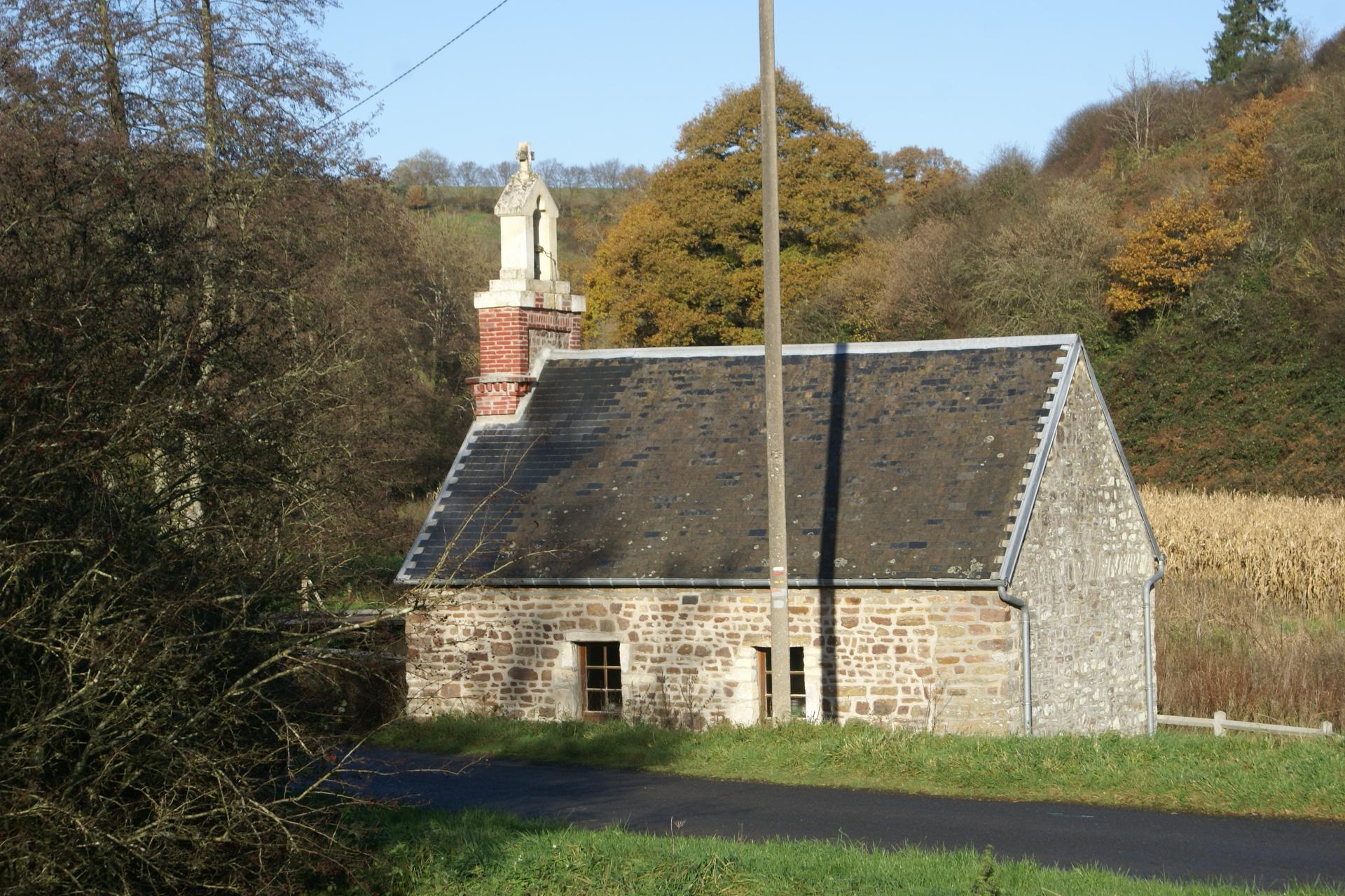 Chapel at Marsangle, Normandy, France