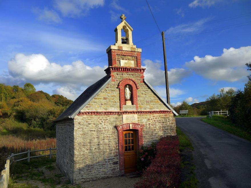 Chapel at Marsangle, Normandy France