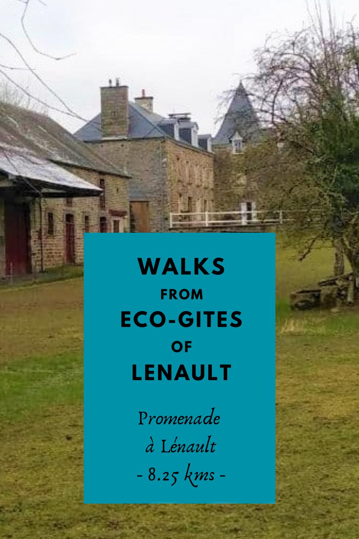 Promenade à Lénault, Normandie