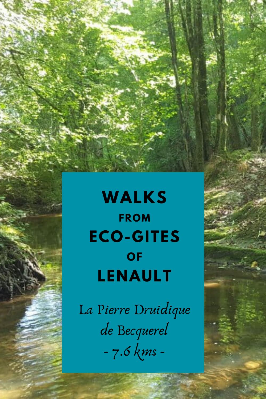 Druid's Stone Walk, Perigny Normandie