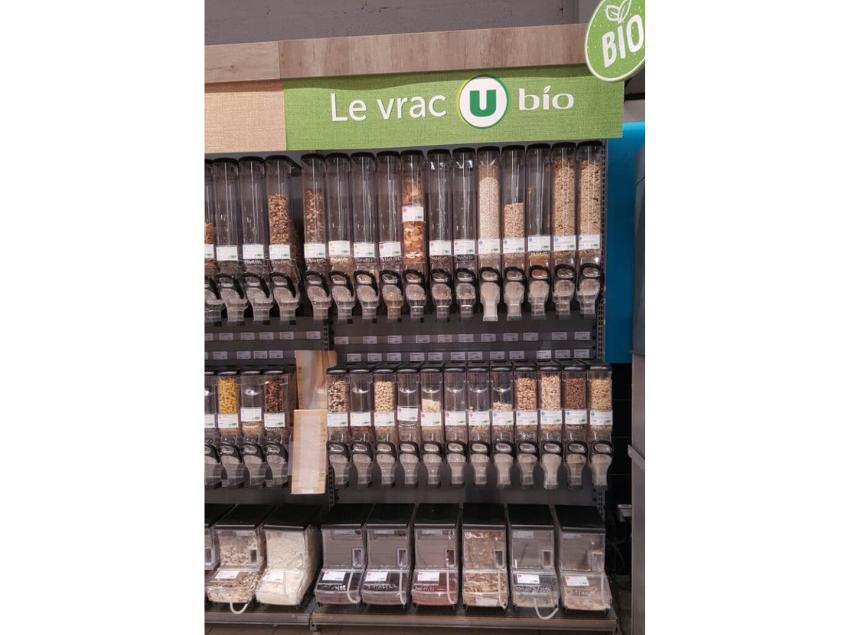 Zero-waste foods / rayon en vrac, Super U, Normandy