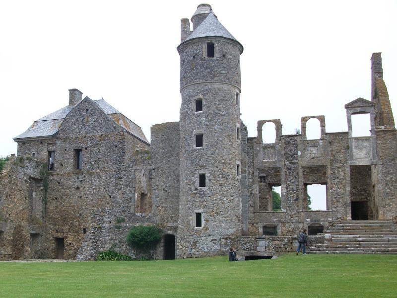 Château de Gratot, Normandy