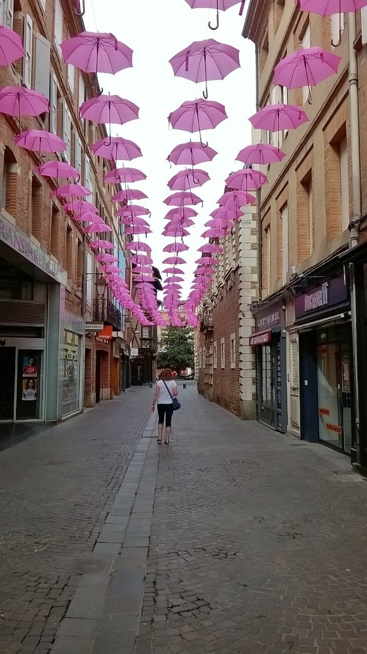 Albi shopping streets