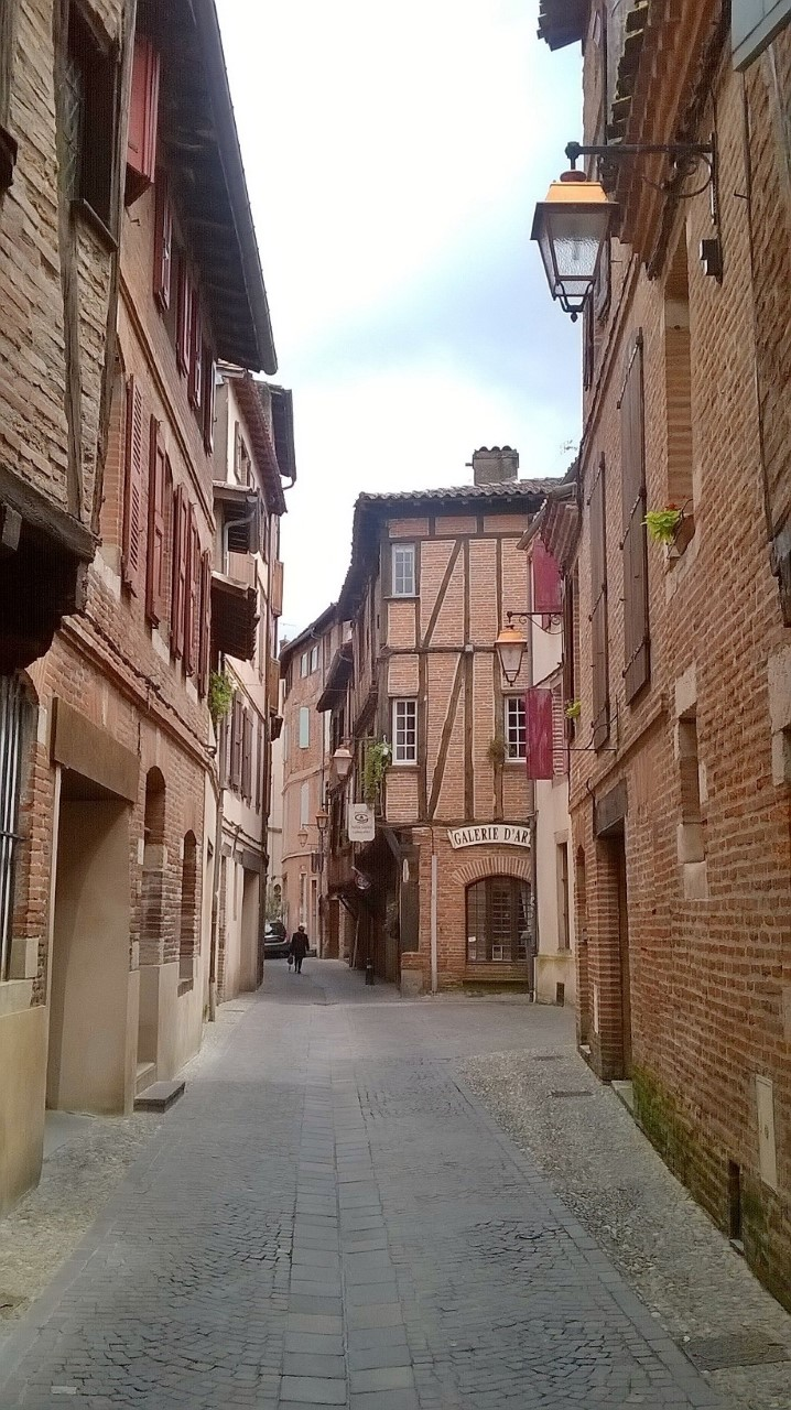Albi historic centre