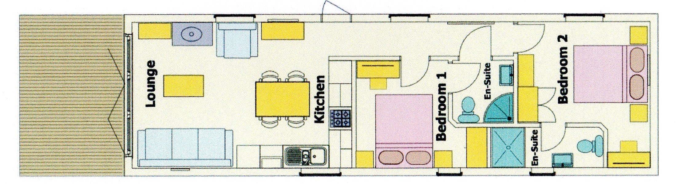 Puffin Lodge Floor Plan