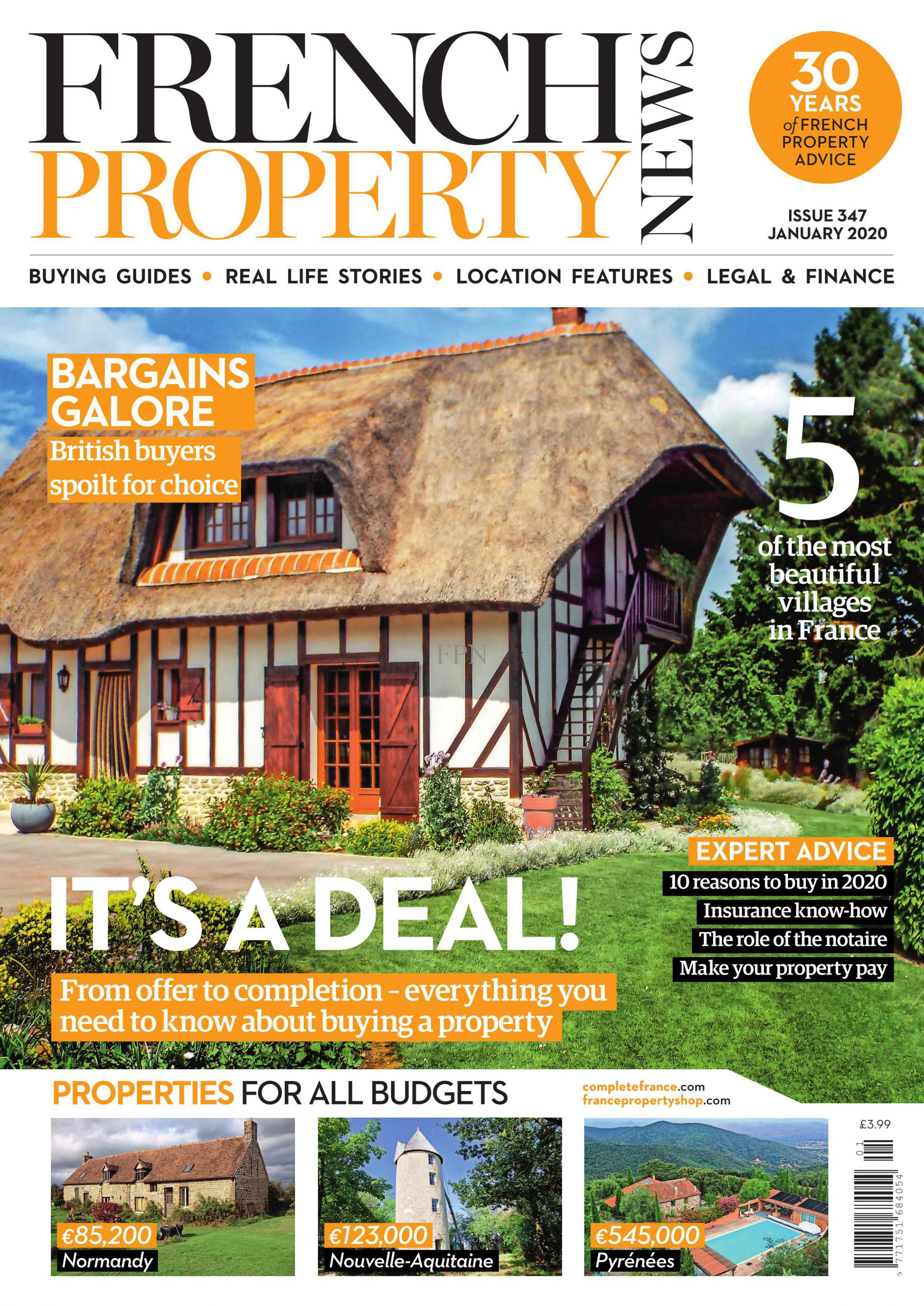 French Property News Jan 20 front cover