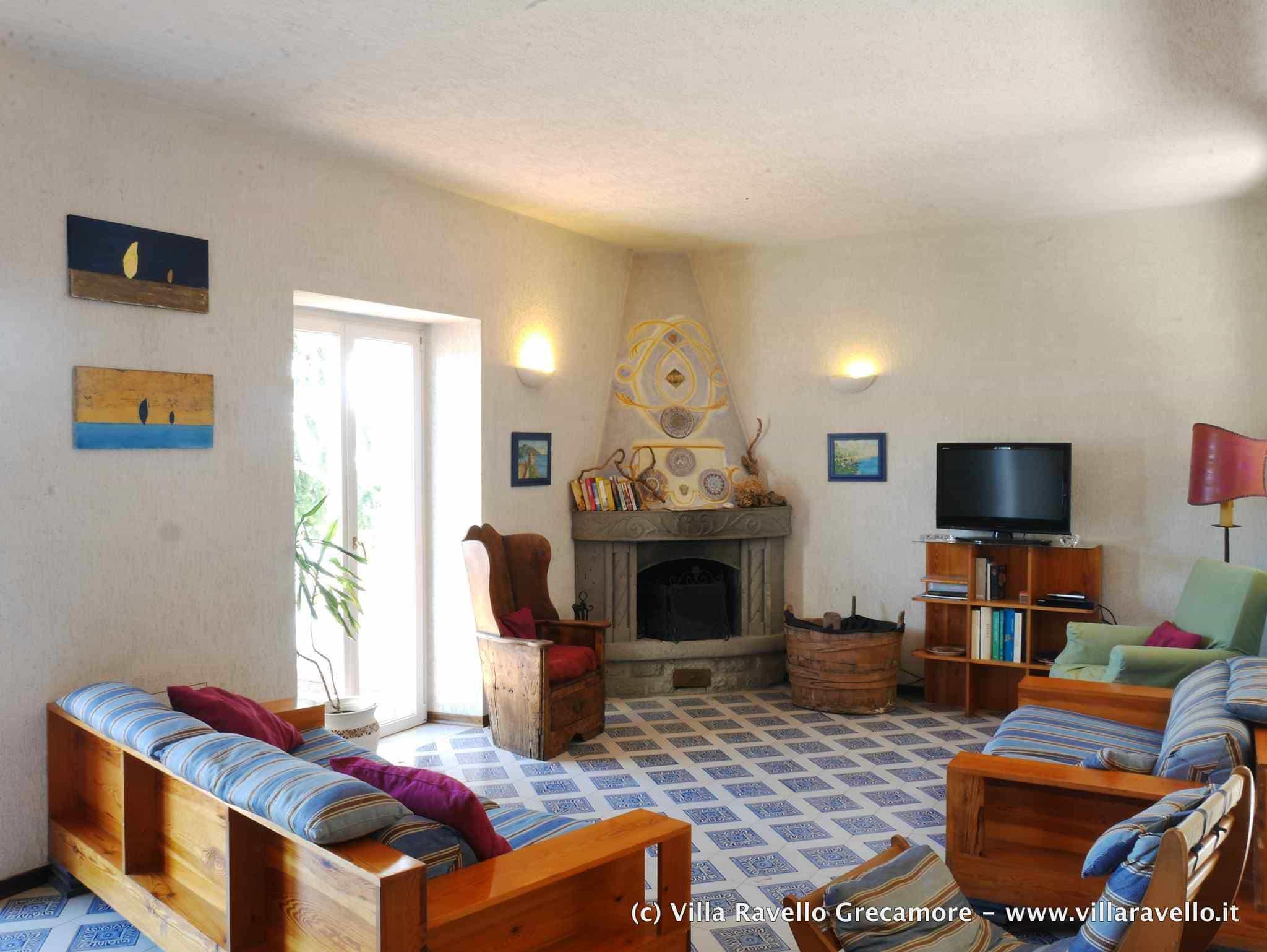 Villa Ravello Grecamore - main lounge