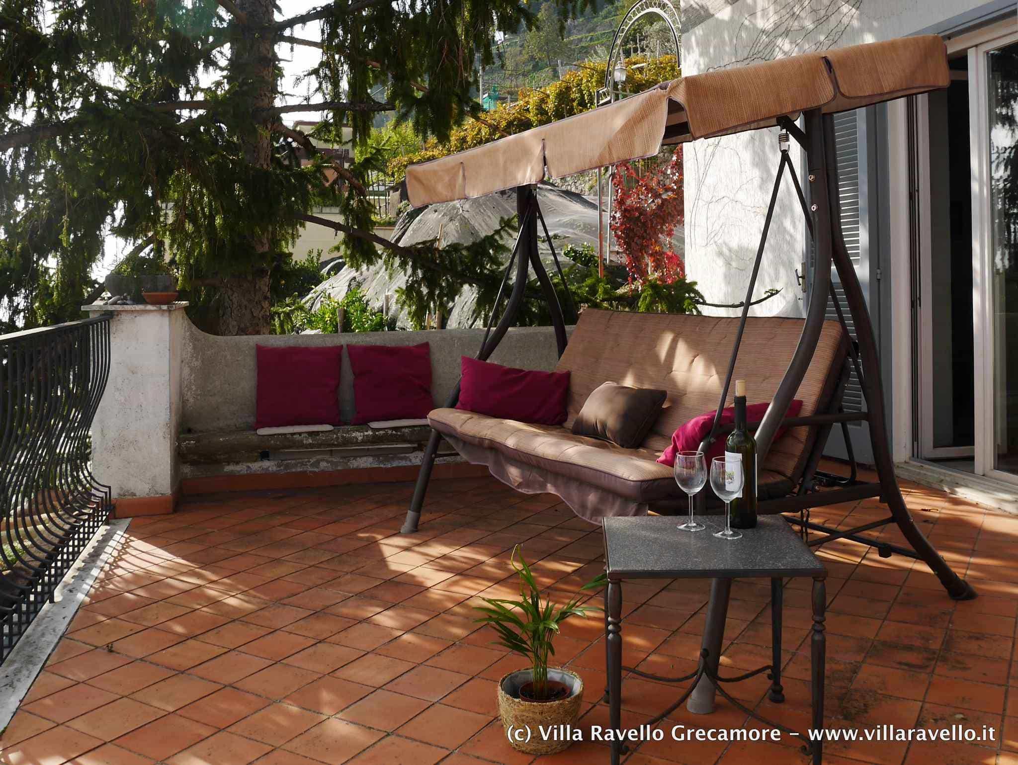Villa Ravello Grecamore - main terrace