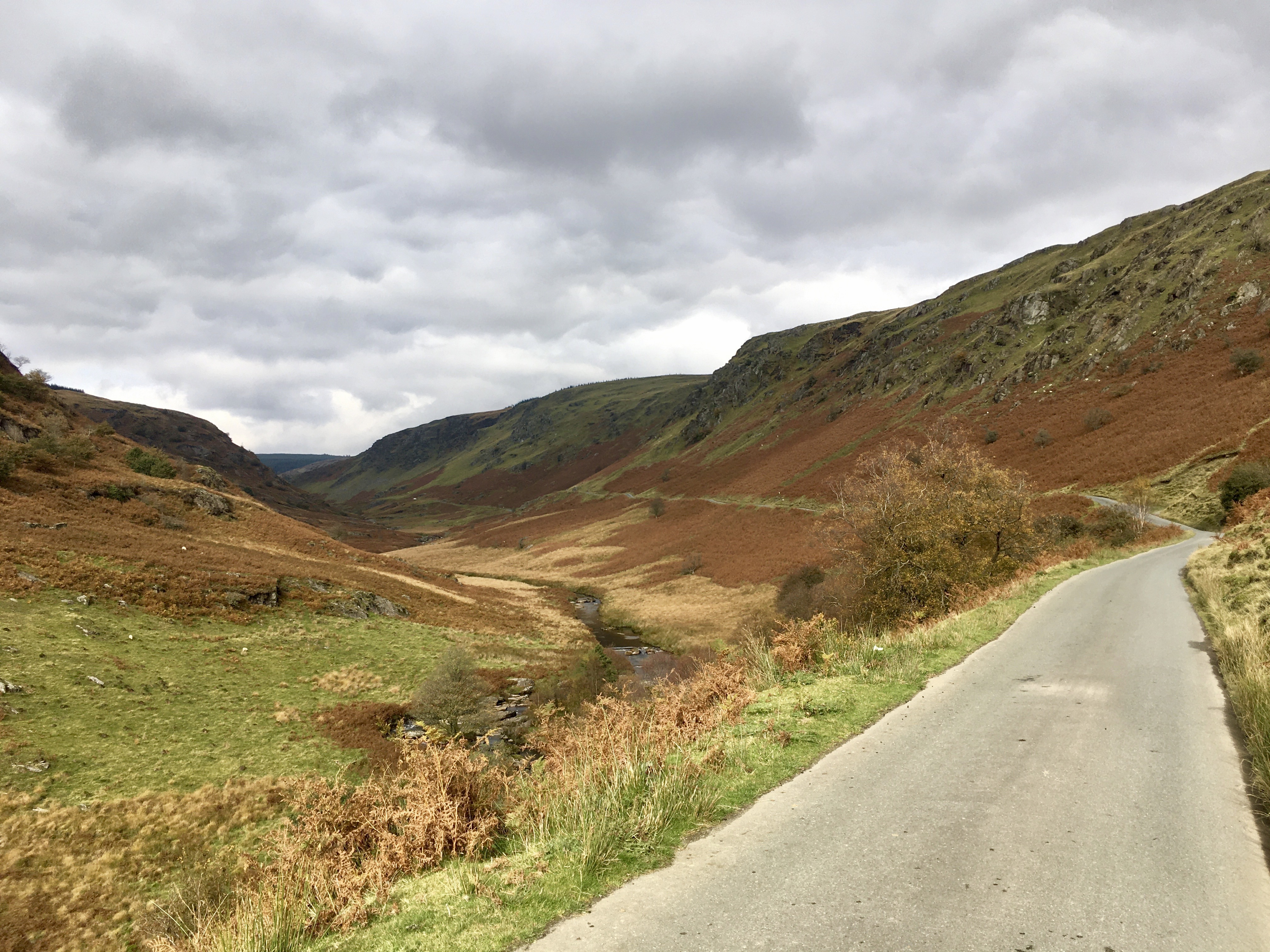 The pass towards the Devil's Staircase