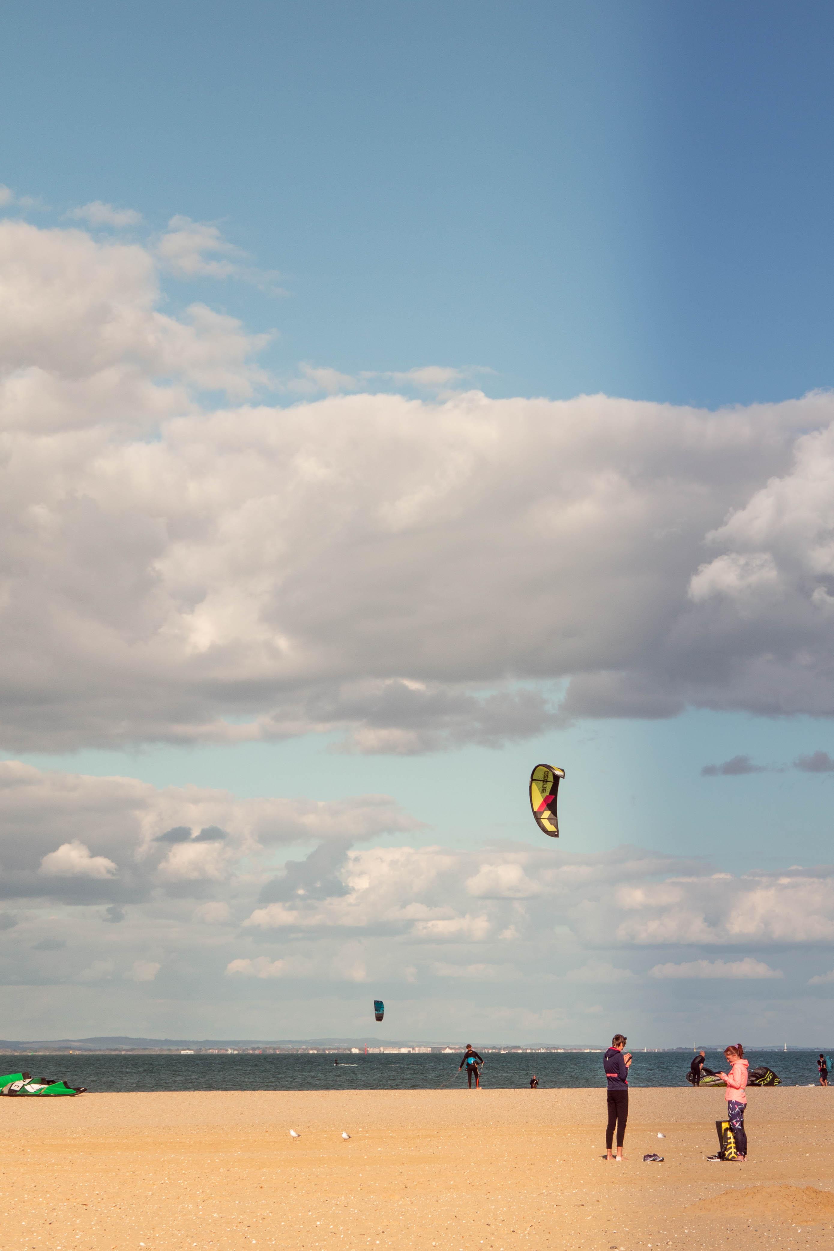 Para-surfing in Ryde
