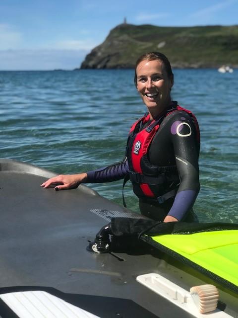 Happy i could finally windsurf!