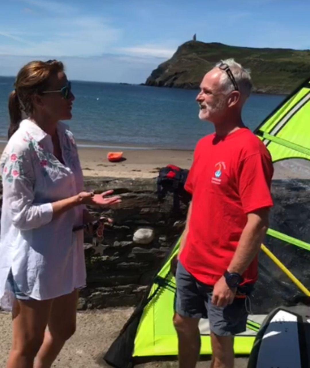Dave's Waves Windsurfing Isle of Man