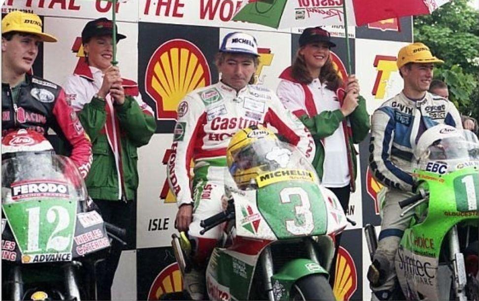 Joey Dunlop Isle of Man TT 1995