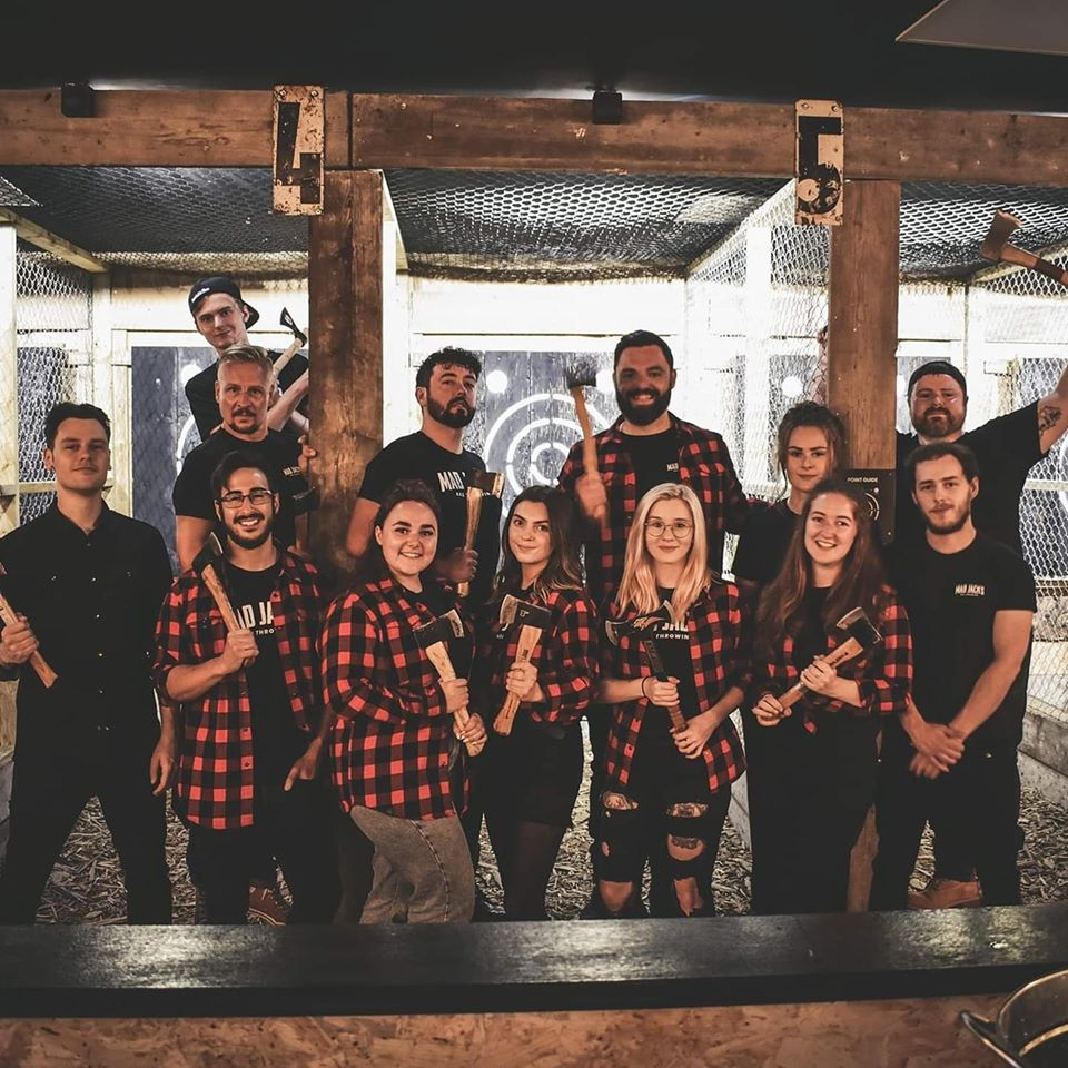 Axe Throwing Isle of Man