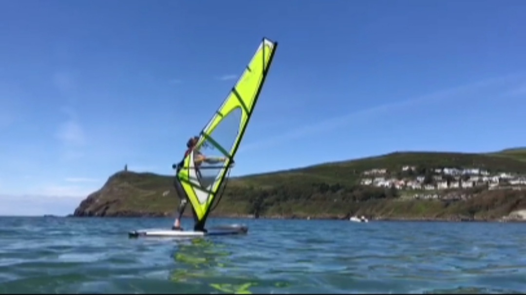 Windsurfing Isle of Man