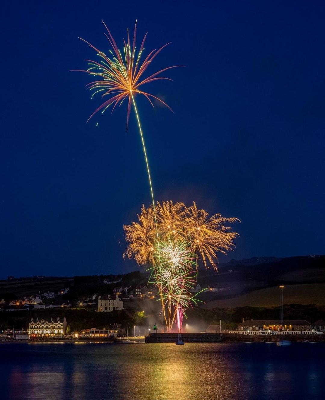 Port Erin Fireworks