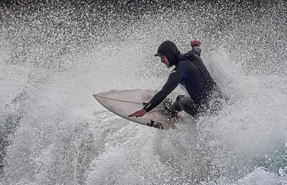 Surfing Isle of Man