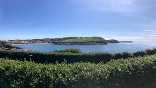 View from Bradda Head in Port Erin