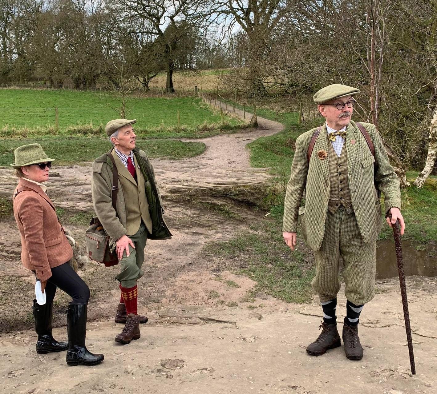 Tweedsters Walking