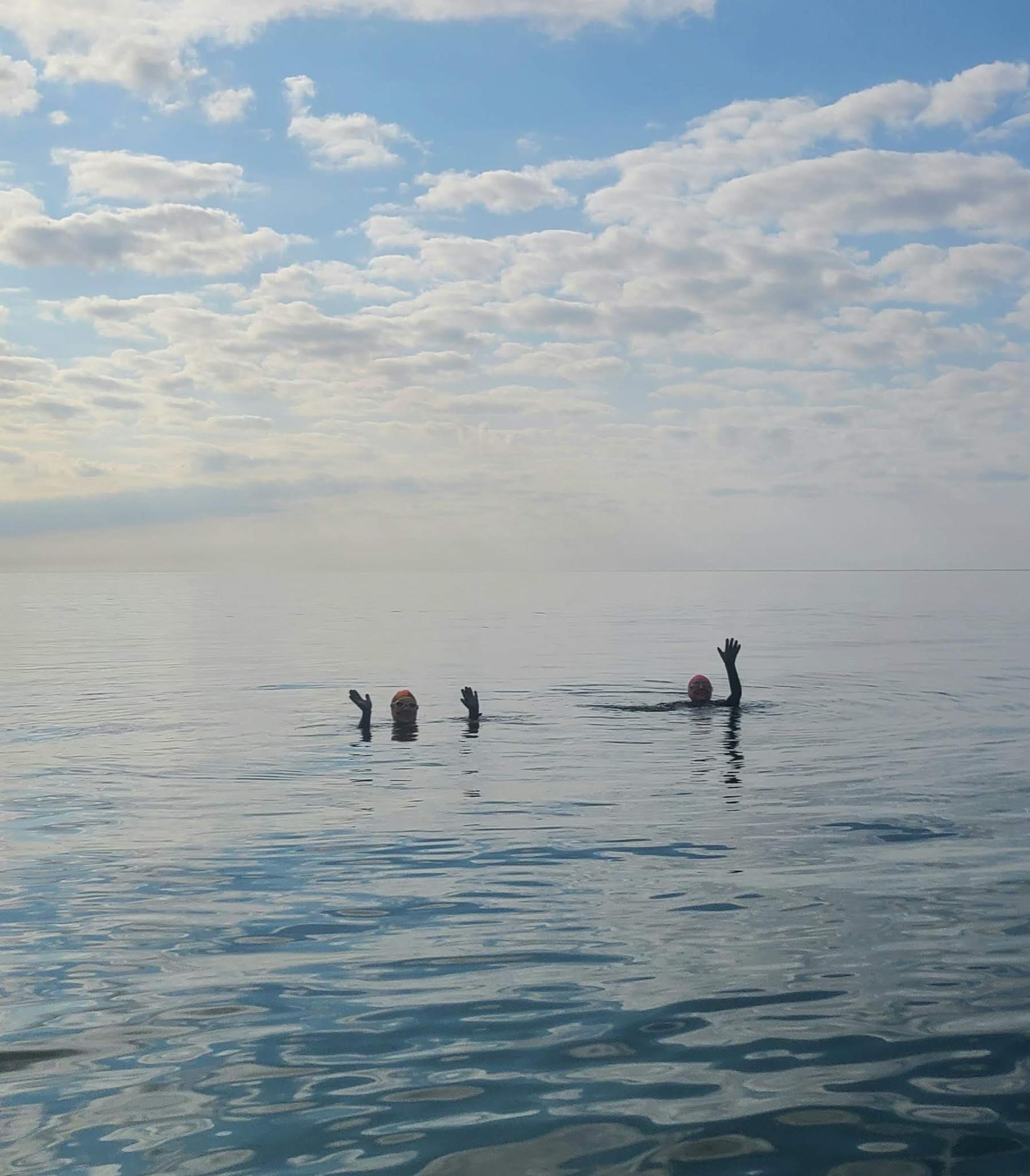 Sea swimming in the Isle of Man
