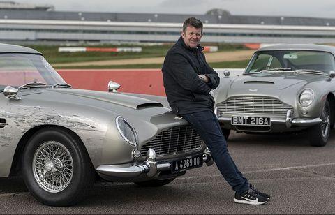 Mark Higgins stunt double for James Bond